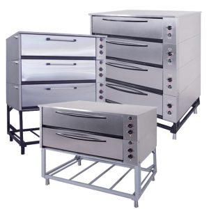 Шкафы жарочно-пекарные секционные
