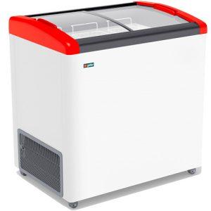 Морозильный ларь Gellar FG 250 E Красный
