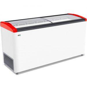 Морозильный ларь Gellar FG 600 E Красный