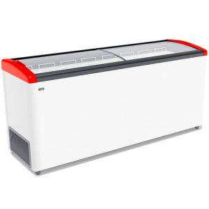 Морозильный ларь Gellar FG 700 E Красный