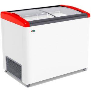 Морозильный ларь Gellar FG 375 E Красный