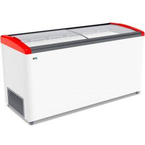 Морозильный ларь Gellar FG 675 E Красный