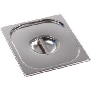 Крышка для гастроемкости GN 1/2, нержавеющая сталь - Тулаторгтехника